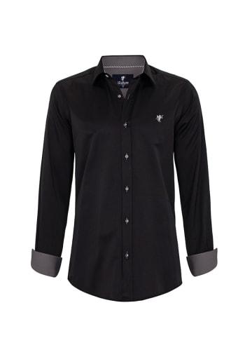 CULTURE Koszula w kolorze czarnym