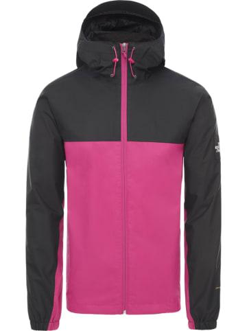 """The North Face Kurtka funkcyjna """"Mountain Q"""" w kolorze czarno-różowym"""