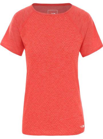 """The North Face Koszulka sportowa """"Active Trail"""" w kolorze czerwonym"""