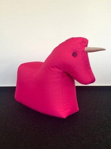 "Sitting Bull Zitzak ""Eenhoorn"" roze - (B)73 x (H)50 x (D)30 cm"