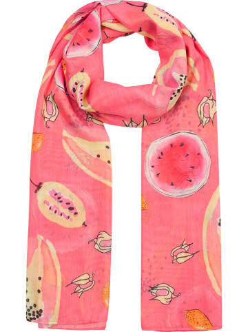 """Codello Schal """"Tropical Punch"""" in Pink - (L)175 x (B)115 cm"""