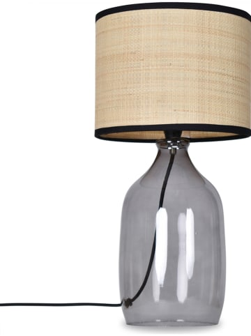 Deco Lorrie Lampa stołowa w kolorze beżowo-szarym - wys. 40,5 cm