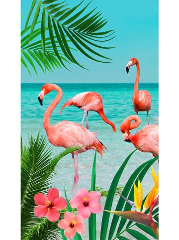 "Good Morning Strandtuch ""Flamingo"" in Bunt"