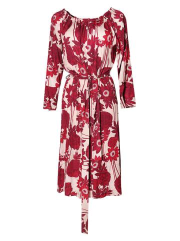 Tova Sukienka w kolorze różowym ze wzorem