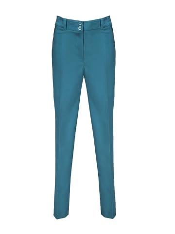 Tova Spodnie w kolorze niebieskim