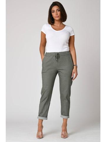 "Plus Size Fashion Hose ""Clara"" in Khaki"