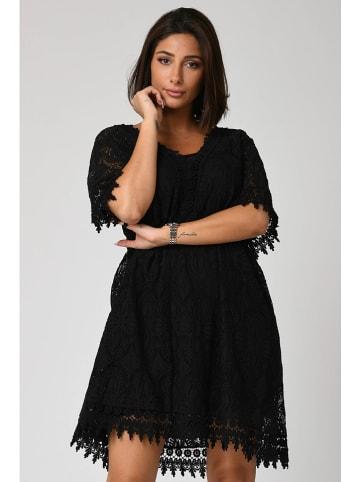 "Plus Size Fashion Kleid ""Fanny"" in Schwarz"
