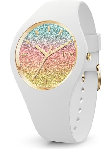 """Ice Watch Kwartshorloge """"Io"""" wit/goudkleurig/roze/turquoise"""