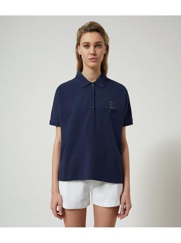 "Napapijri Poloshirt ""Ehyamoli"" donkerblauw"