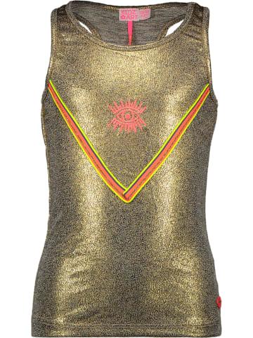Kidz-Art Top w kolorze złotym
