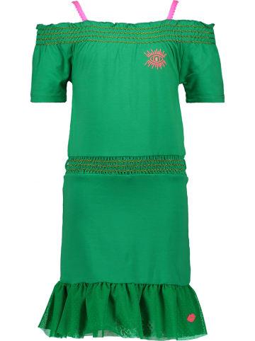 Kidz-Art Sukienka w kolorze zielonym