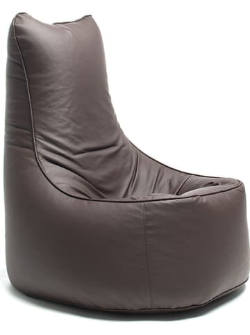 """Sitting Bull Fauteuil """"Chill Seat"""" donkerbruin - (B)75 x (H)100 x (D)85 cm"""