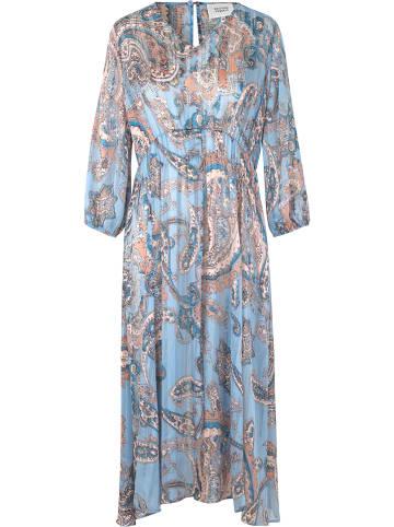 """SECOND FEMALE Sukienka """"Adelina"""" w kolorze błękitnym"""