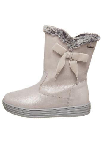 Primigi Leder-Stiefel in Grau