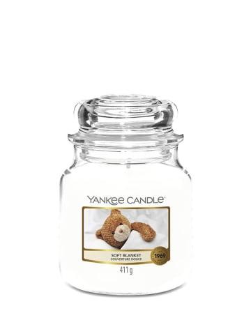 Yankee Candle Średnia świeca zapachowa - Soft Blanket