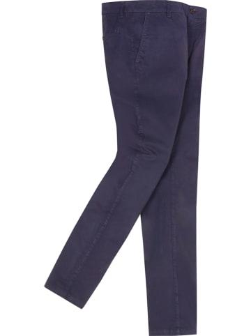 Elkline Spodnie chino w kolorze granatowym
