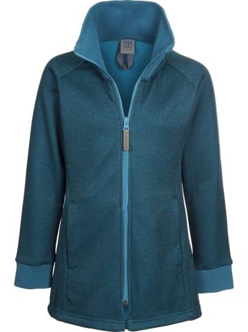 Elkline Fleece vest blauw