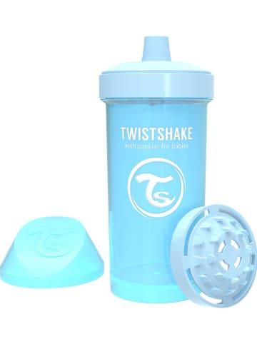 Twistshake Drinkleerfles blauw