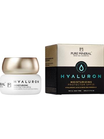 "PURE MINERAL Hydraterende verzorging ""Hyaluron Moisturizing"" - SPF 15, 50 ml"