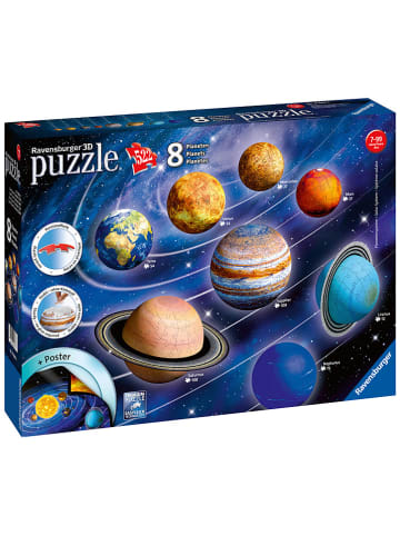 "Ravensburger 522-delige 3D-puzzel ""Planetair systeem"" - vanaf 7 jaar"
