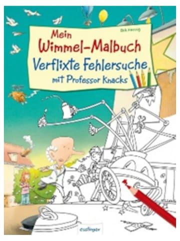 """Esslinger Wimmel-Malbuch """"Verflixte Fehlersuche"""""""