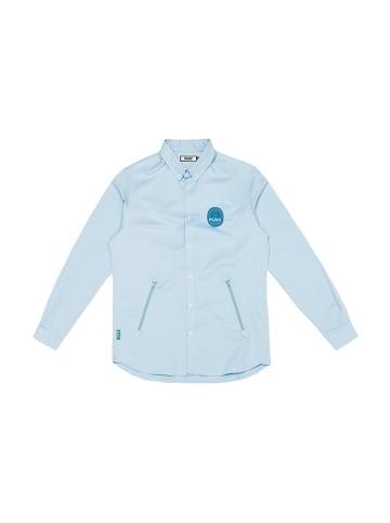 """PLNY Koszula """"Tobago"""" w kolorze błękitnym"""