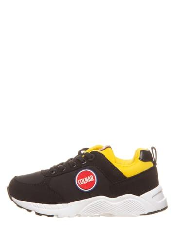 """COLMAR Sneakersy """"Travis Colors"""" w kolorze żółto-czarnym"""