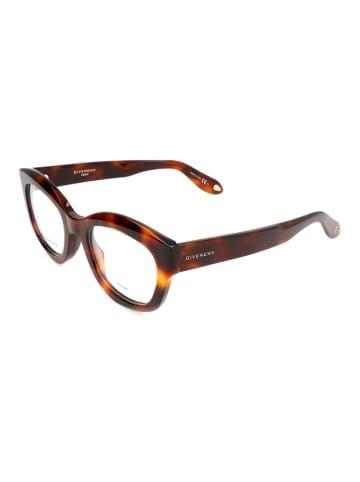 """Givenchy Oprawki """"GV0049"""" w kolorze brązowym ze wzorem"""