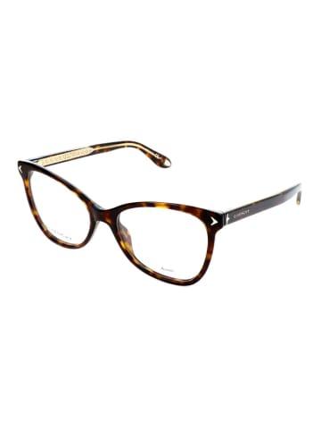 """Givenchy Oprawki """"GV0065"""" w kolorze brązowym ze wzorem"""