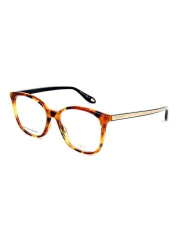 """Givenchy Oprawki """"GV0073"""" w kolorze brązowo-żołtym ze wzorem"""
