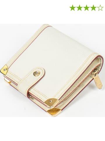 """Louis Vuitton Leren portemonnee """"Compact Zip Wallet PM"""" wit - (B)11 x (H)9,5 x (D)3 cm"""