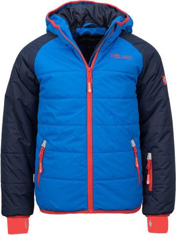 "Trollkids Ski-/ Snowboardjacke ""Hafjell""  in Blau"