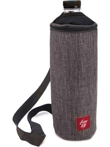 IRIS Flaschen-Isoliertasche in Taupe - (H)28 cm