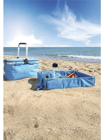"IRIS Picknickdeken ""Large"" lichtblauw - (L)48 x (B)48 cm"