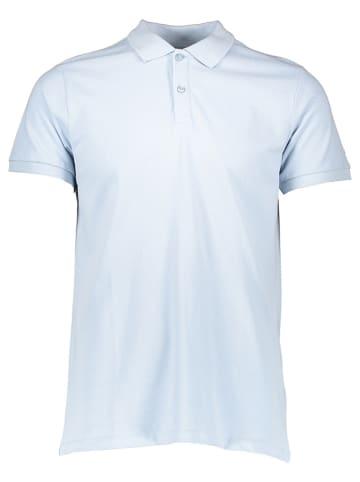 Mexx Koszulka polo w kolorze błękitnym