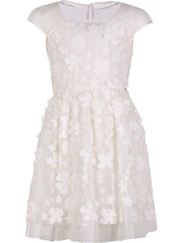 Mexx Sukienka w kolorze kremowym