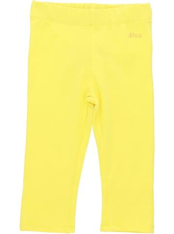 Mexx Legginsy w kolorze żółtym