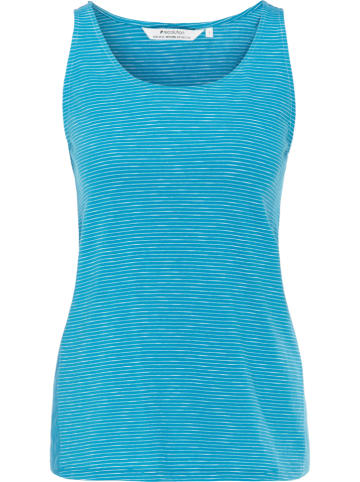 Recolution Top turquoise/wit