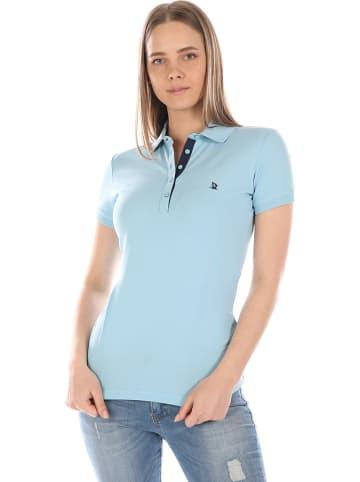 GIORGIO DI MARE Koszulka polo w kolorze błękitnym