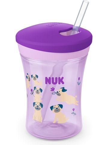"""NUK Drinkleerbeker """"Action Cup"""" paars - 230 ml"""