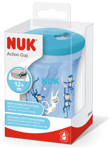 """NUK Drinkleerbeker """"Action Cup"""" lichtblauw - 230 ml"""