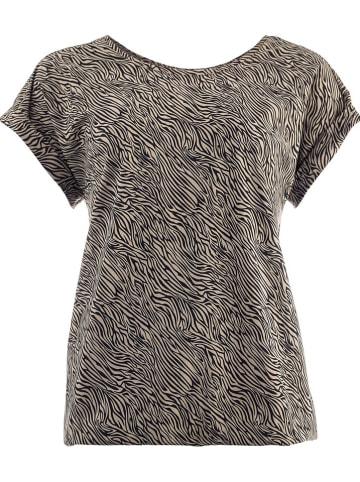 """NED Shirt """"Brisia"""" olijfgroen/zwart"""