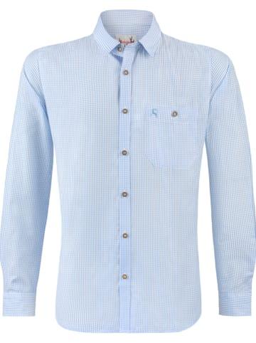 """Stockerpoint Trachtenhemd """"Dave"""" in Hellblau"""