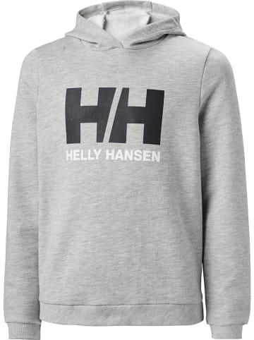 """Helly Hansen Hoodie """"Logo"""" in Grau"""