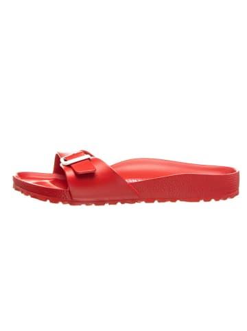 "Birkenstock Slippers ""Madrid"" rood - wijdte S"