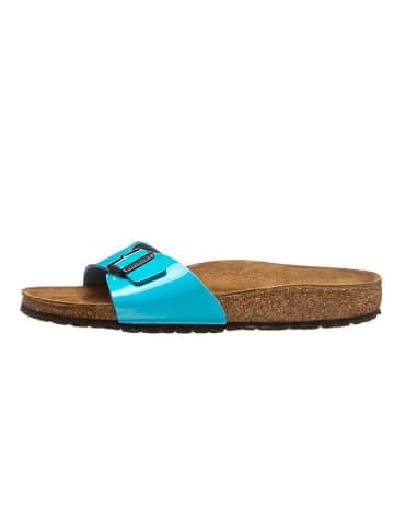 "Birkenstock Slippers ""Madrid"" turquoise - wijdte S"