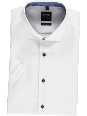 "OLYMP Hemd ""Level 5 Royal"" - Body fit - in Weiß"