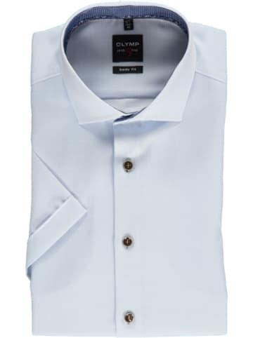 """OLYMP Koszula """"Level 5 Royal"""" - Body fit - w kolorze błękitnym"""