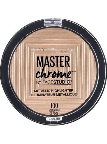 "Maybelline Highlighter ""Master Chrome Metallic - 100 Molten Gold"", 9 g"
