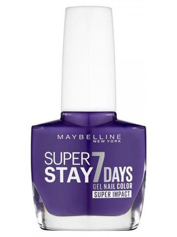 "Maybelline Gelnagellak ""Super Stay 7 Days - 887 All Day Plum"", 10 ml"